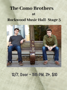 rockwood hall stage york nyc