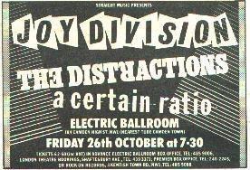 26 Oct 1979, Electric Ballroom, Camden, London