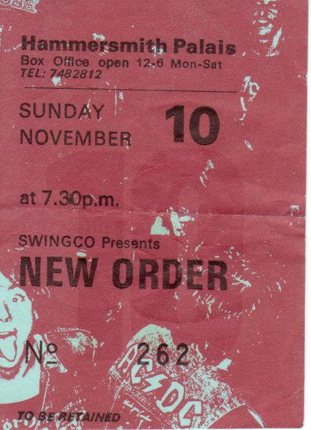 10 Nov 1985, Hammersmith Palais, London - ACR Gigography