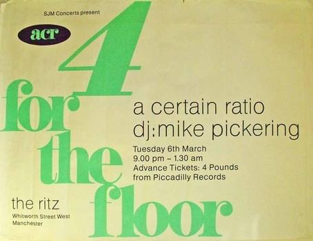 06 Mar 1990, The Ritz, Manchester - ACR Gigography