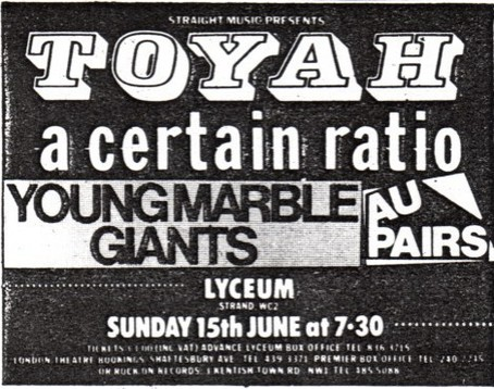 15 Jun 1980, Lyceum Theatre, London - ACR Gigography
