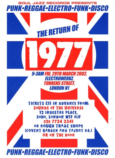 29 Mar 2002, Electrowerkz, Islington, London - ACR Gigography
