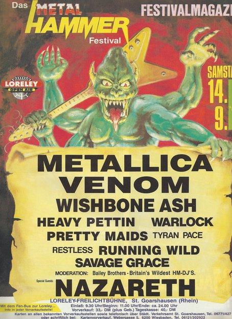 metal hammer festival loreley sep