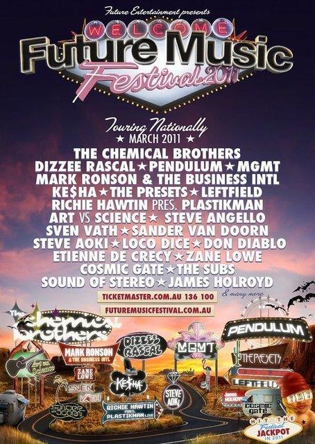 future festival melbourne mar