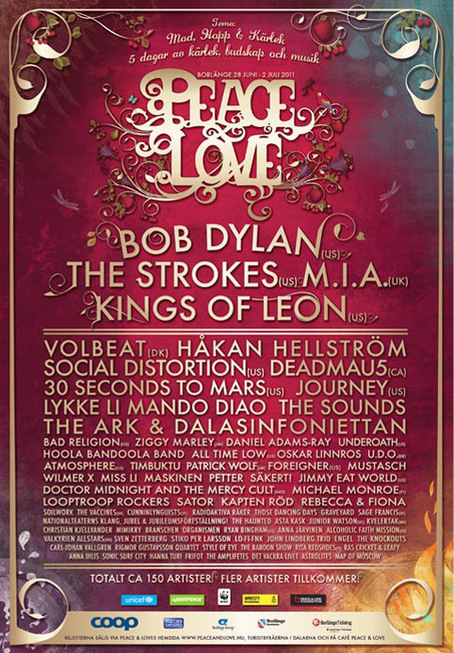 peace love festival borlaenge