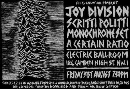 31 Aug 1980, Electric Ballroom, London - ACR Gigography