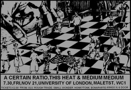 21 Nov 1980, University of London Union, London - ACR Gigography