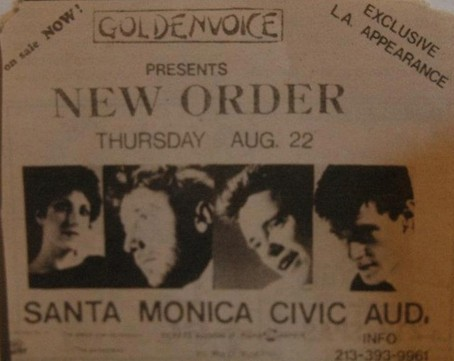 22 Aug 1985, Civic Auditorium, Santa Monica, USA - ACR Gigography
