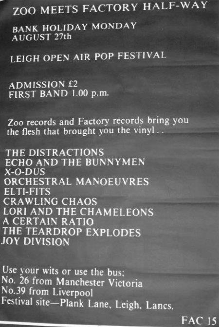 27 August 1979, Leigh Open Air Festival (Zoo Meets Factory Half Way)