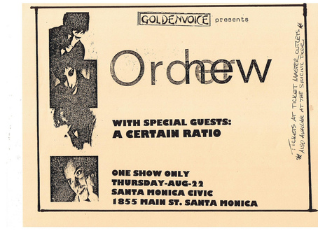 22 Aug 1985, Civic Auditorium, Santa Monica, USA - ACR Gigography