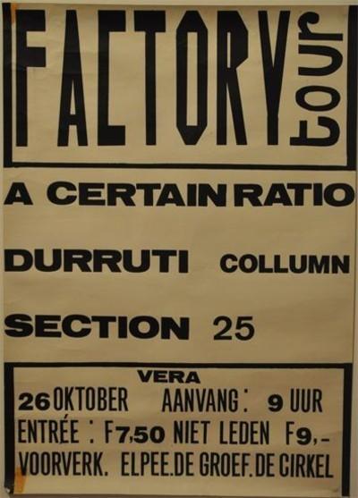 26 Oct 1980, Vera, Groningen, Netherlands - ACR Gigography