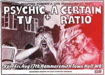 17 Aug 1984, Hammersmith Town Hall, London - ACR Gigography