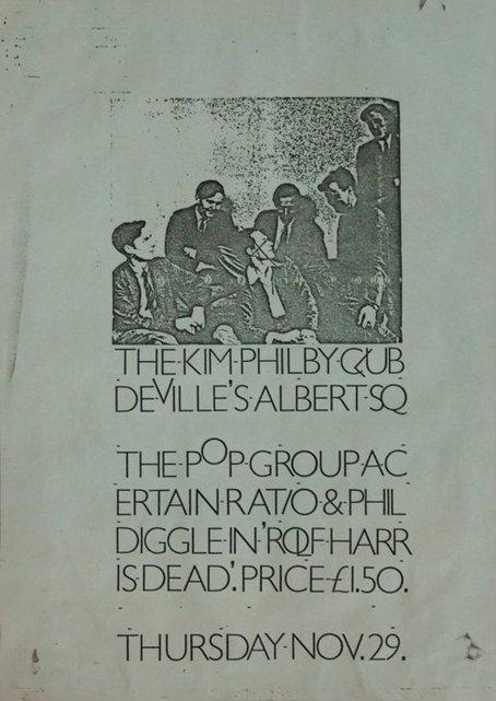29 Nov 1979, Kim Philby Club, Devilles, Manchester