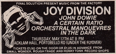17 May 1979, Acklam Hall, Notting Hill, London
