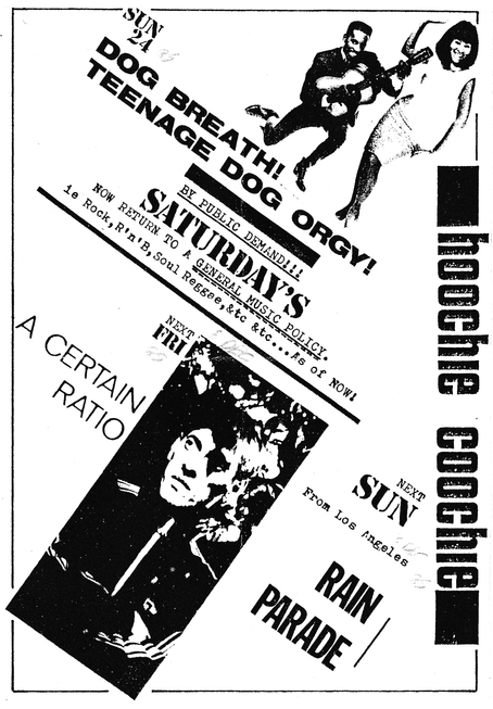 06 Dec 1985, Hoochie Coochie Club, Edinburgh - ACR Gigography