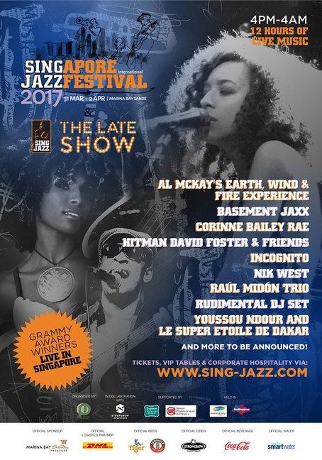 singapore international jazz festival singapore mar