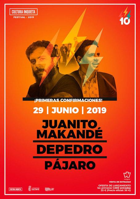 9f5306ac4 Cultura Inquieta Festival 2019 Getafe Line-up, Tickets & Dates Jun 2019 –  Songkick