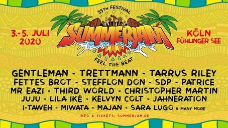 When Is Summer Jam 2020.Summerjam Festival 2020 Cologne Programmation Billets