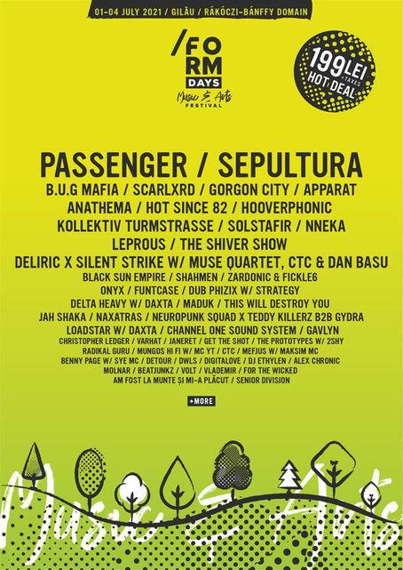 form days arts festival cluj napoca jul