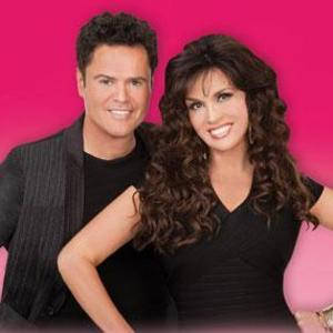 Image result for donny and marie osmond