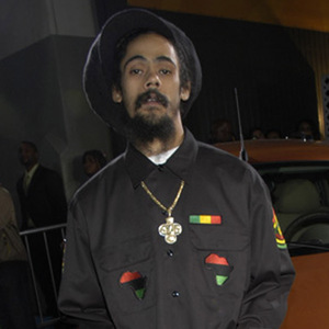 Damian 'Jr Gong' Marley live.