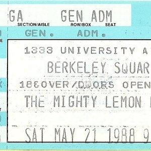 The Mighty Lemon Drops Tour Dates, Concerts & Tickets – Songkick