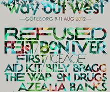 west festival gothenburg aug