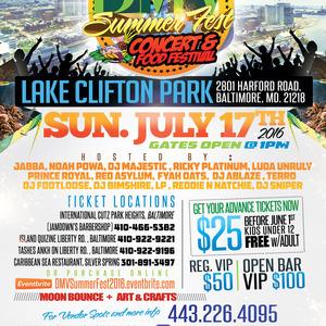 dmv summer fest concert food festival baltimore jul