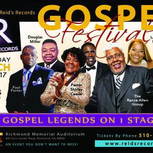 Gospel Legends Tour Dates