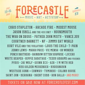Image result for forecastle music festival 2018