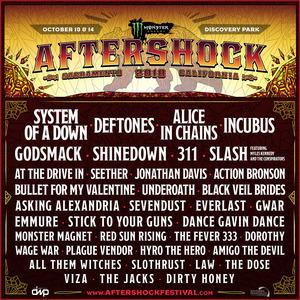 Monster Energy Aftershock 2018 Sacramento Line Up Tickets