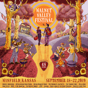 Walnut Valley Festival 2019 Winfield Line-up, Tickets